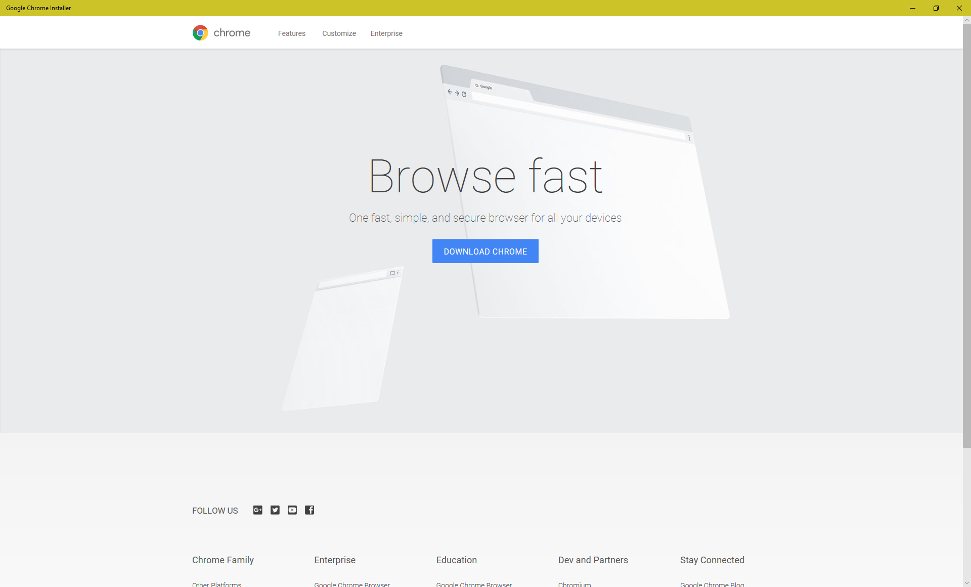 Google brings a Chrome… installer… to the Microsoft Store [Updated