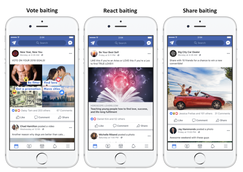 "New Facebook algorithm update attempts to quell ""engagement bait"" posts"