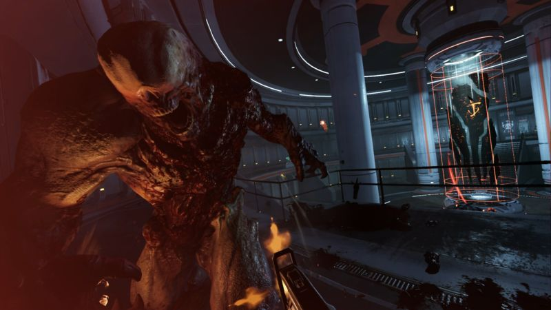 In screenshot mode, <em>Doom VFR</em> looks a lot like normal <em>Doom</em>.