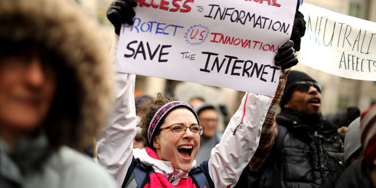 photo image FCC must defend net neutrality repeal in court against dozens of litigants