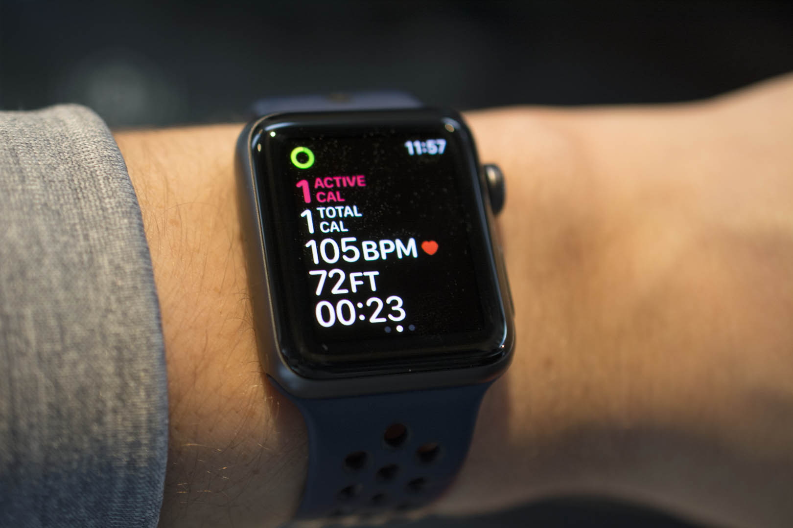The Apple Watch Series 3 is discounted this week.