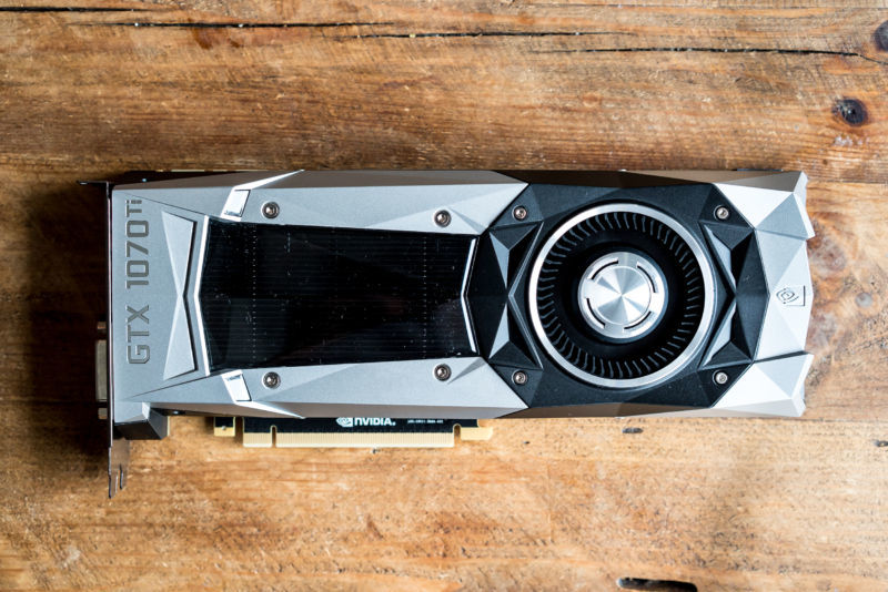 The Nvidia GeForce 1070 Ti.