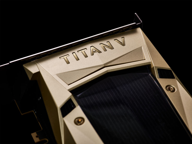 You wouldn't really want to use Nvidia's $3,000 Titan V with a 32-bit operating system anyway.