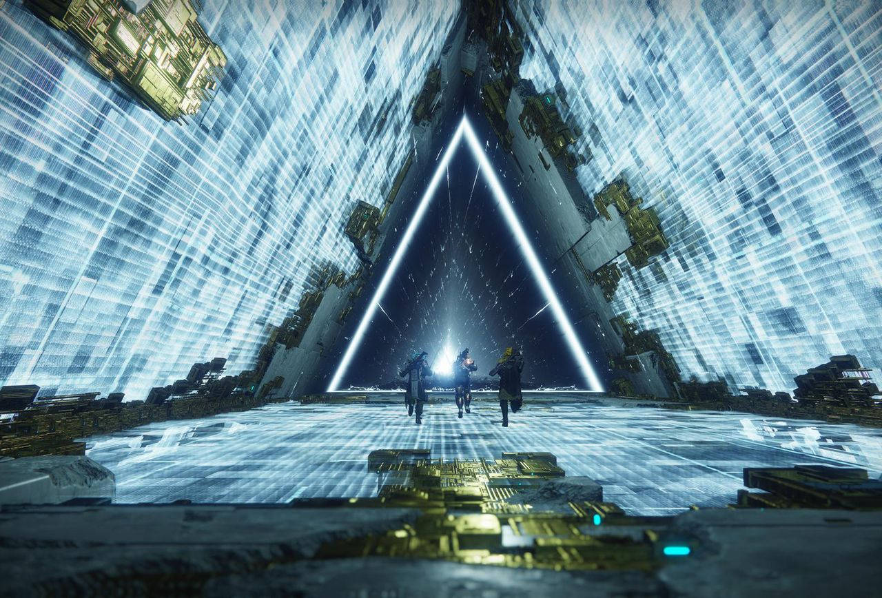 Imagine this tunnel going on forever and you have some idea of what players expect from the <em>Destiny 2</em> endgame.