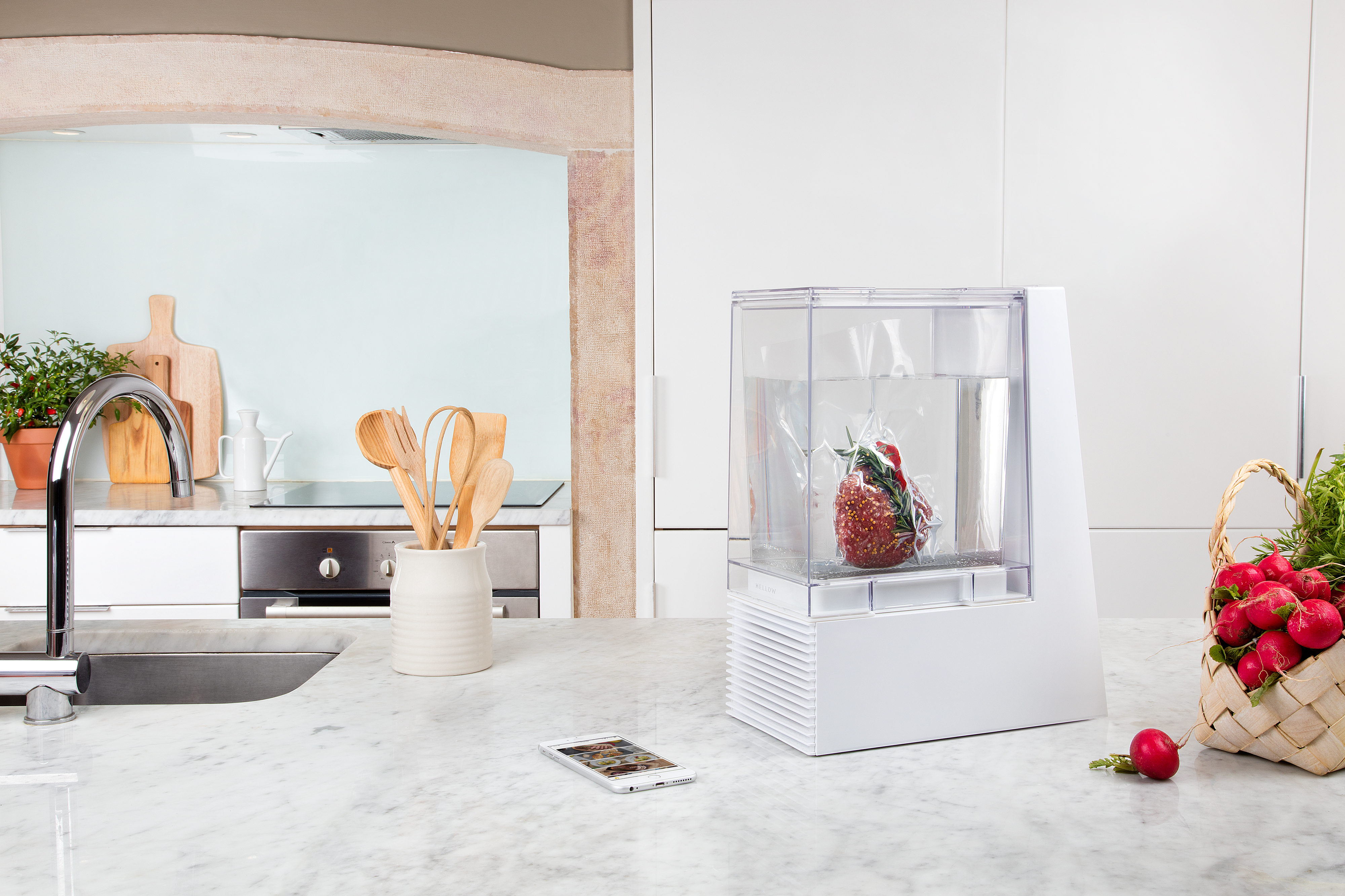 Dear Silicon Valley A Sous Vide Is Not Crockpot Ars Technica Tupperware Open House Oh Serving Enlarge Heres Press Photo Of The Mellow My Kitchen Nowhere Near This Nice So Lets Start With An Aspirational Image