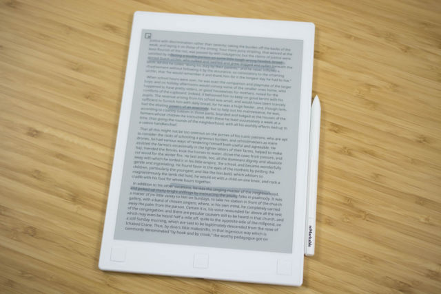 ReMarkable tablet review: The high price of getting that