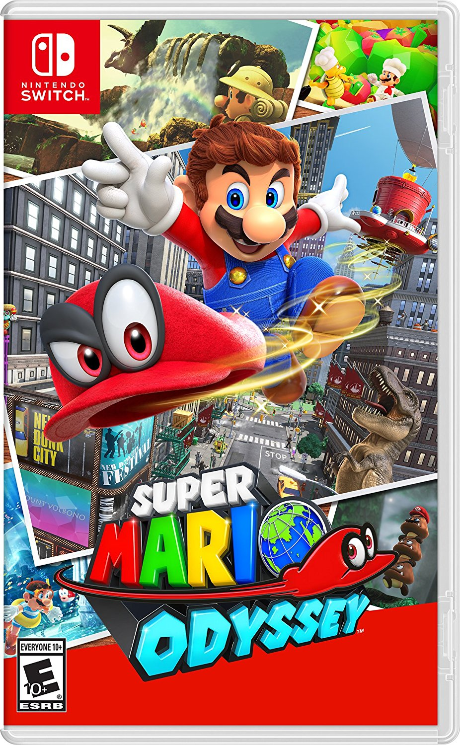 Super Mario Odyssey (Nintendo Switch) product image