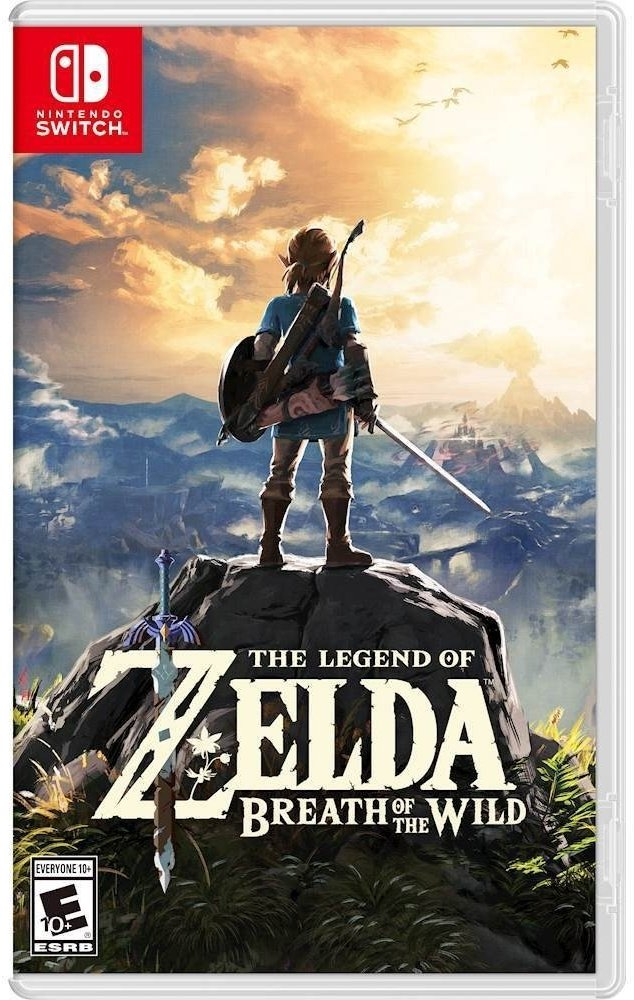 The Legend of Zelda: Breath of the Wild (Nintendo Switch) product image