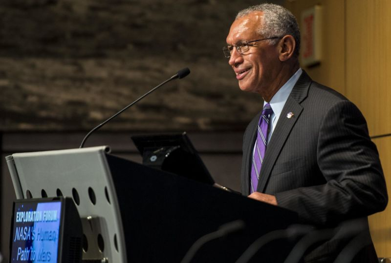 Astronaut Charles Bolden served as NASA's administrator for more than seven years.