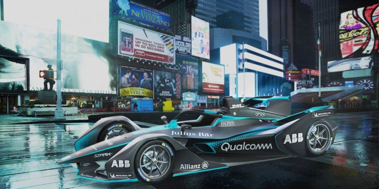 Formula E's new electric car looks like nothing else in racing