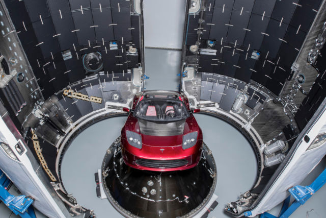 Forget the Falcon Heavy's payload and focus on where the rocket will