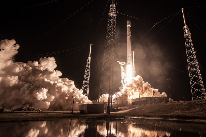 The Zuma mission launched on January 7 from Florida.
