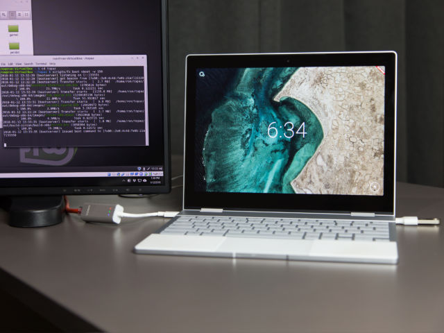 Google's Fuchsia OS on the Pixelbook: It works! It actually works