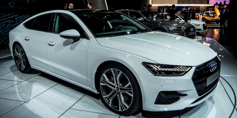 the 2019 audi a7 is a sleek looking fastback with some. Black Bedroom Furniture Sets. Home Design Ideas