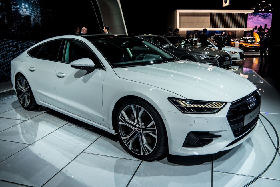 The 2019 Audi A7 is a sleek-looking fastback with some pretty cool tech