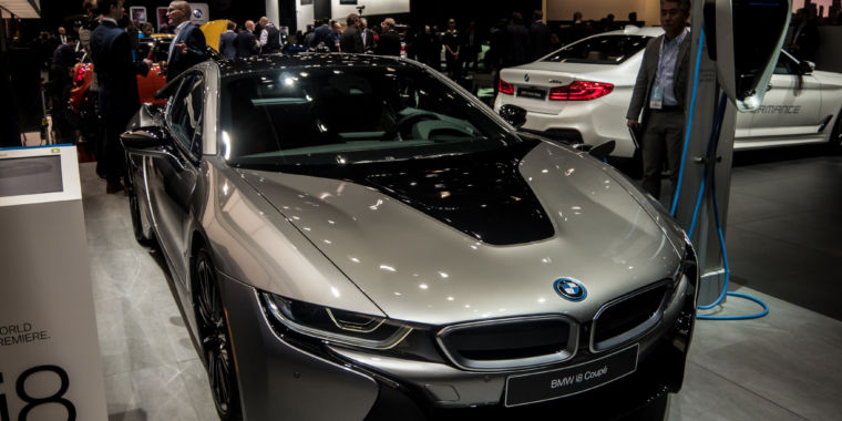 A Little More Power And A Lot More Battery For The BMW I8u0027s Mid Life  Refresh | Ars Technica