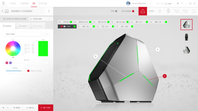 Alienware revamps its Command Center app with a centralized game hub