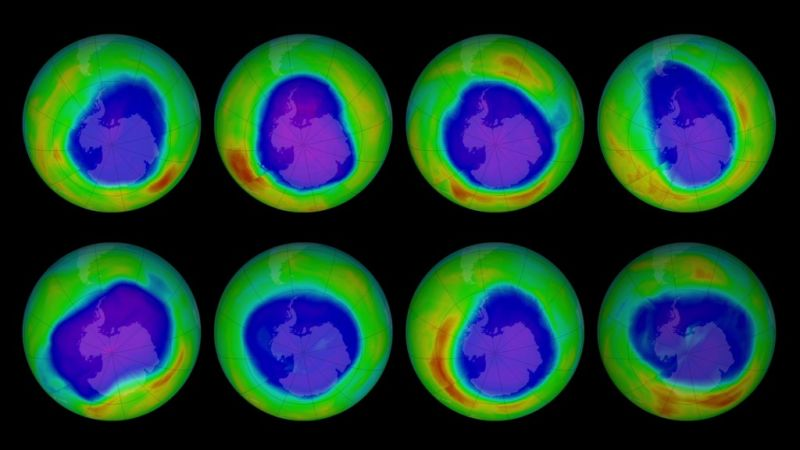 NASA finds first direct evidence the Ozone Hole is healing