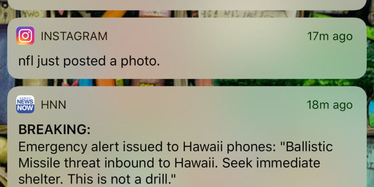 Here's how to make sure Hawaii's missile warning fiasco isn't repeated