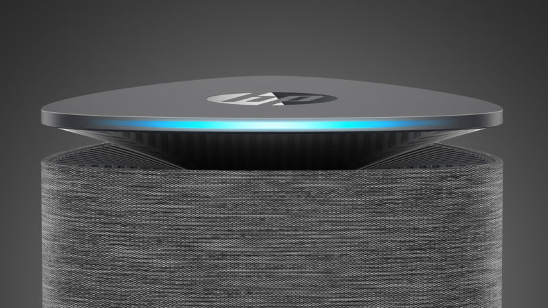 HP's Pavilion Wave PC with built-in Alexa.