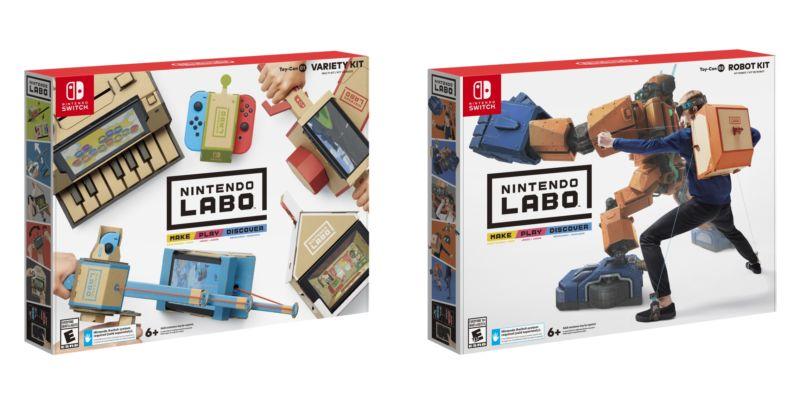 Labo looks like a trip, Nintendo.