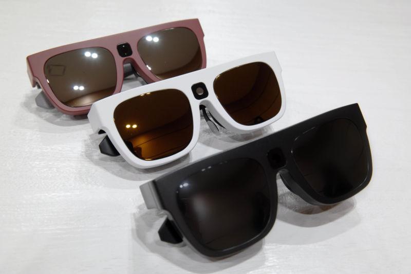 Relúmĭno smart glasses made by Samsung's C-Lab.