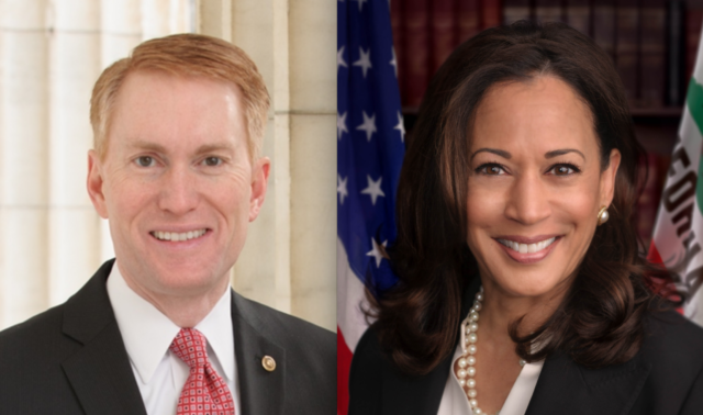 Sen. James Lankford (R-Okla.) and Sen. Kamala Harris (D-Calif.) are key co-sponsors of the bill.