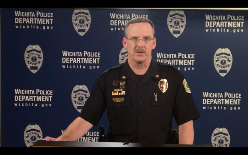 Troy Livingston, deputy chief of the Wichita police department.