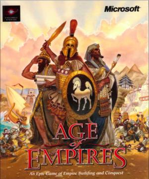 Cover art for the original <em>Age of Empires.</em>
