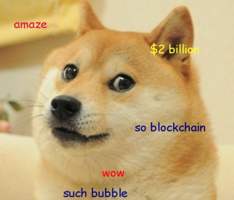 Remember Dogecoin? The joke currency soared to $2 billion this weekend