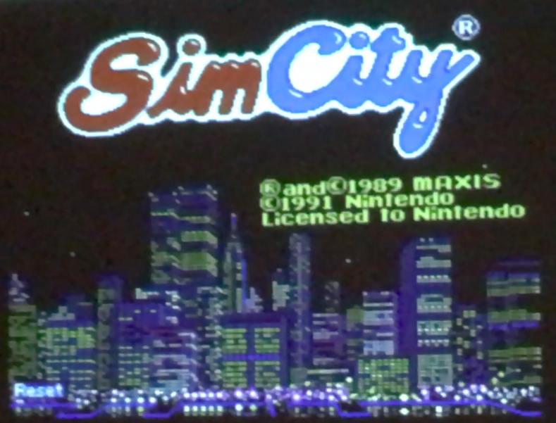See the long-lost NES prototype of SimCity