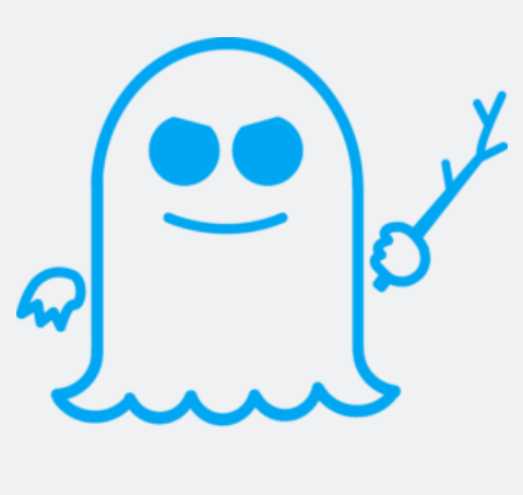 "People have to be sick of looking at this ghost by now. (Do you know whether this is the logo for Spectre or Meltdown? Here's the <a href=""https://cdn.arstechnica.net/wp-content/uploads/2018/01/meltdown-text.png"">answer</a>.)"