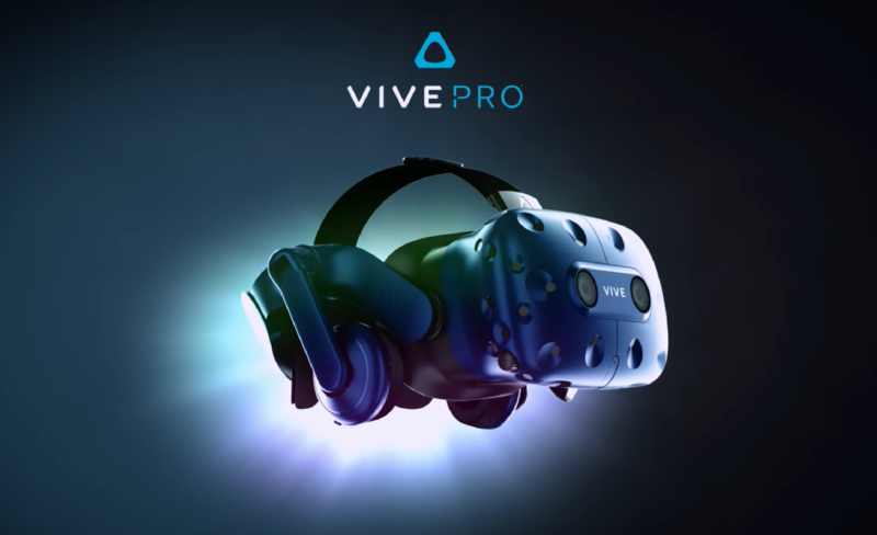 HTC's Vive Pro offers resolution bump, wireless adapter, and better microphones