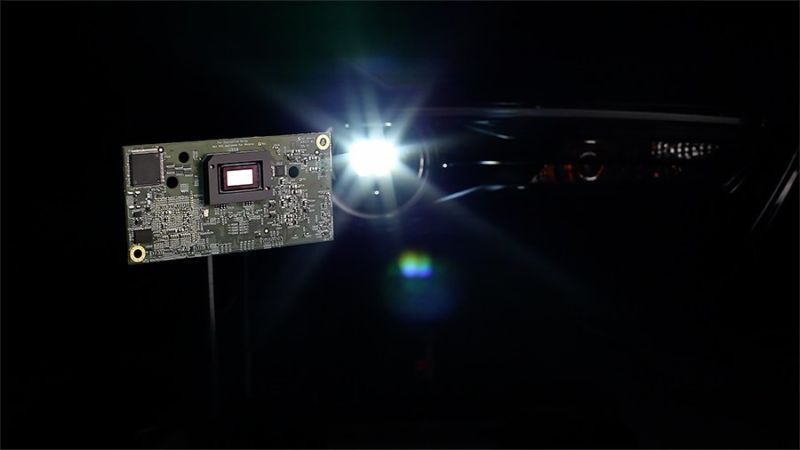 """New high-resolution DLP technology brings new capabilities to headlight systems,"" Texas Instruments says."