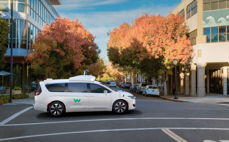 Waymo orders way mo' self-driving minivans from Chrysler