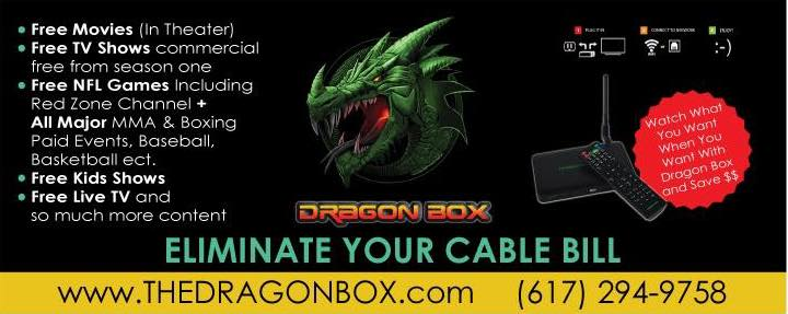 A Dragon Box ad.
