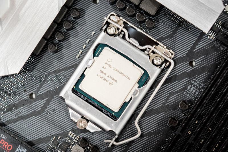 An Intel CPU.