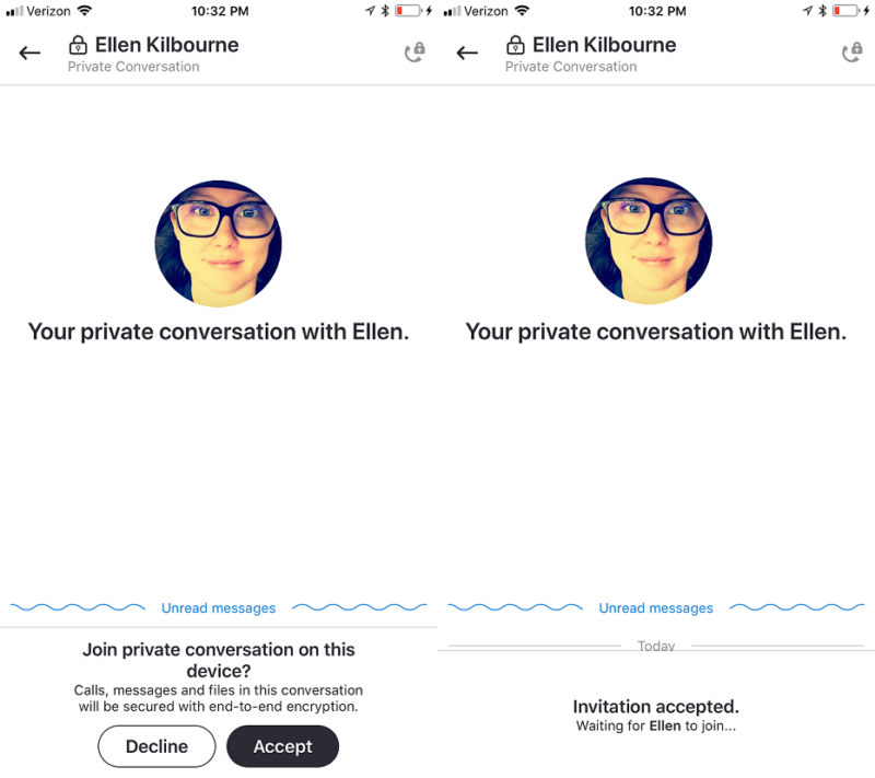 Skype Insider Preview // Private Conversations