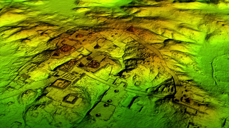 Of-the-art Mega Laser Scanner reveals Maya