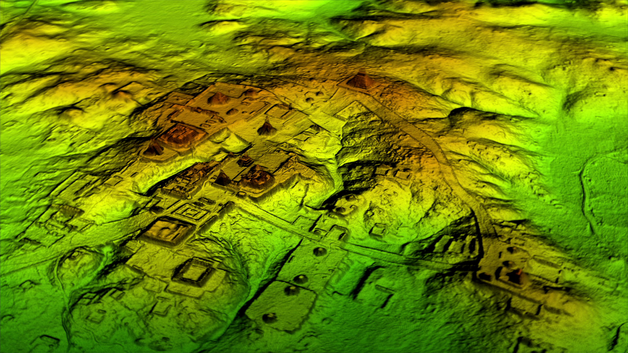 Fortresses farmlands of the maya emerge from massive