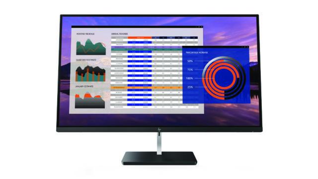 HP Z27 monitor.
