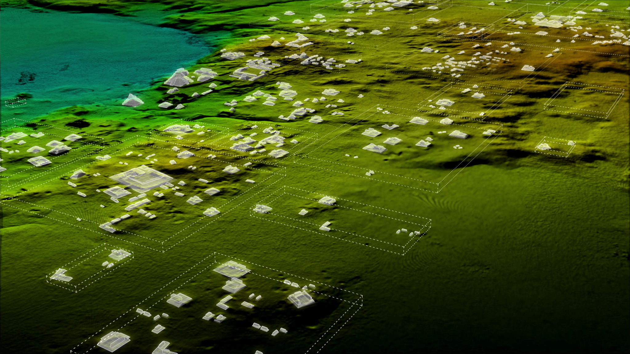 Laser Tech Reveals A Sprawling Ancient Maya Mega