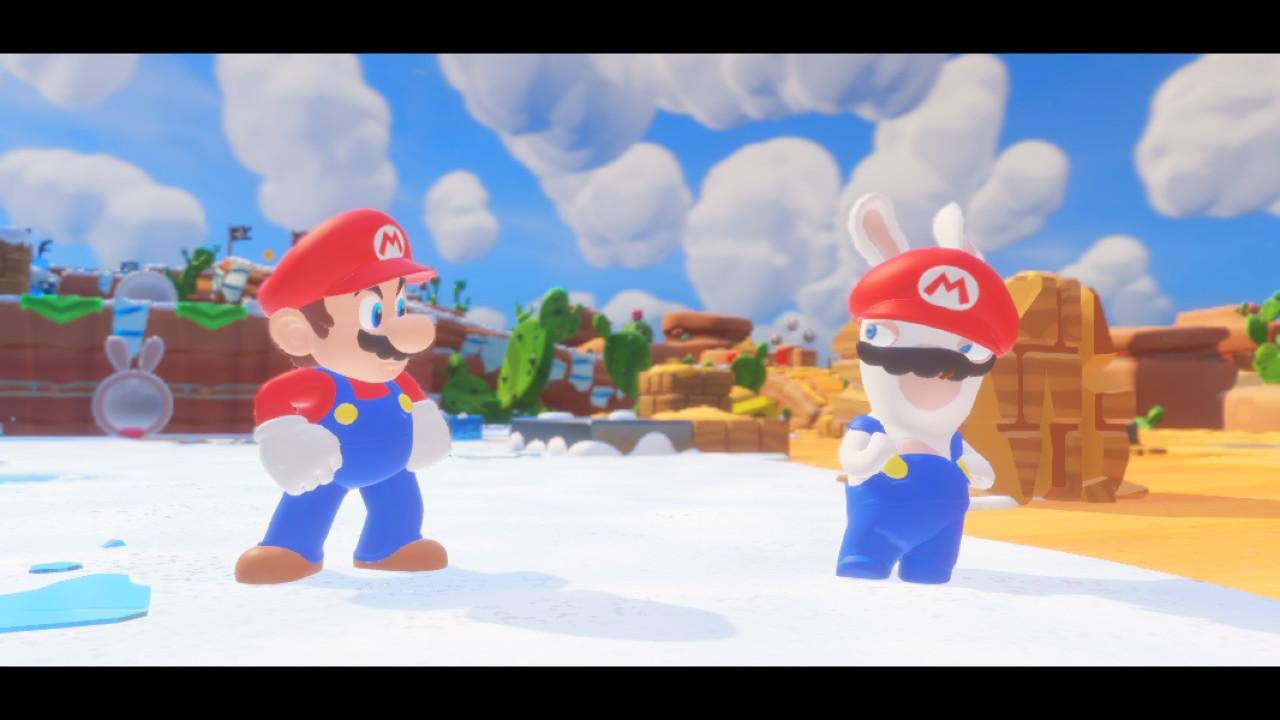 <em>Mario + Rabbids Kingdom Battle</em>.