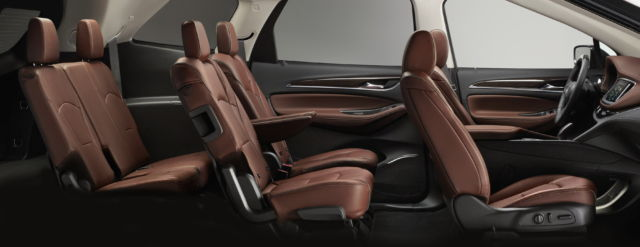 Buick Enclave Seating Capacity >> Review Buick Aims High Falls Short With 60 000 Enclave