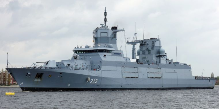 "German Navy Experiences ""LCS Affect"" in Spades as New Frigate Fails Sea Trials"