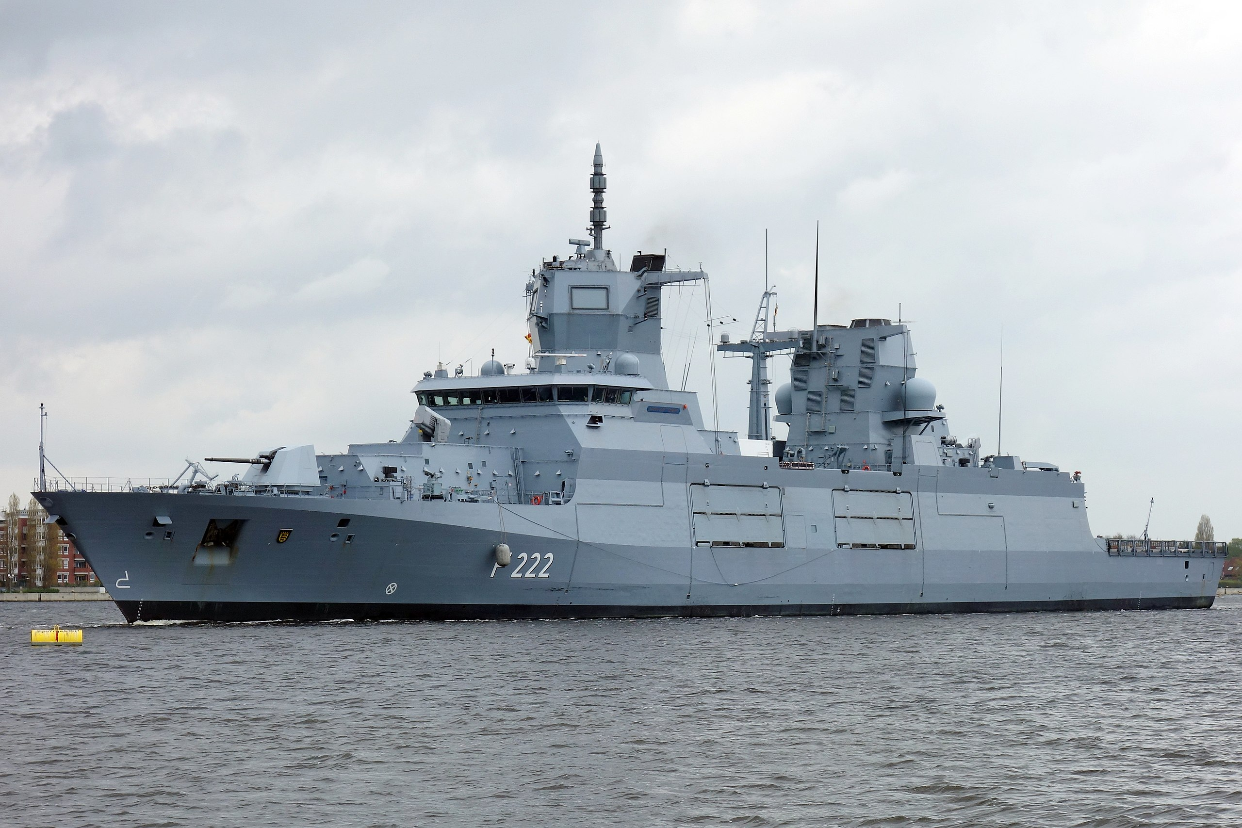 """German Navy experiences """"LCS syndrome"""" in spades as new frigate fails sea  trials"""