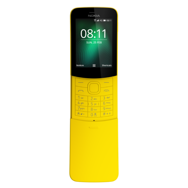 Nokia's latest nostalgia-bait feature phone is the 8110