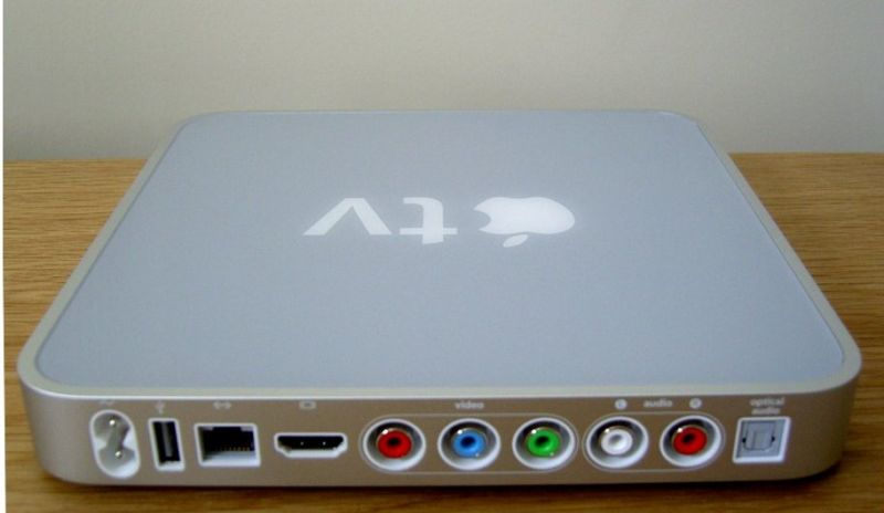 The first-generation Apple TV