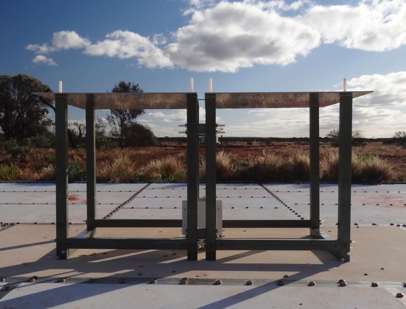 No, it's not a picnic table. It's an observatory that may have just upset our ideas about dark matter.