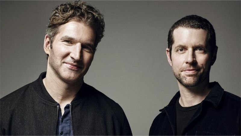 David Benioff and D.B. Weiss, newly announced as writers and producers of another Star Wars film series.